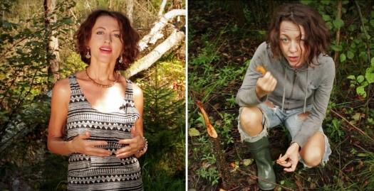 Фото не до и после, а после и до. Беловежская веселка - Абсолютное Добро